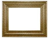 XXL-Isolated wooden Photo Frame — Stock Photo