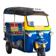 Isolated, Thailand tricycle -- Tuk Tuk — Stock Photo