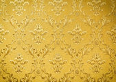 Luxury seamless golden floral wallpape — Stock Photo