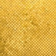 Grunge golden mosaic, gold background — Stock Photo