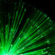 Stock Photo: Optical fiber lighting