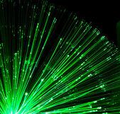 Optical fiber lighting — Stock Photo