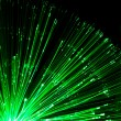 Optical fiber lighting - Stock Photo