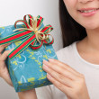 Time gifts - gift box — Stock Photo #26289703