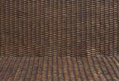 Rattan wood texture — Stock Photo