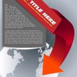 Abstract vector brochure background — Stock Vector #13380545