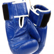 Boxing gloves isolated on white background. — Stock Photo #26597413