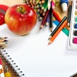 School and office supplies. Back to school. — Stock Photo #34856411