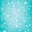 Blue snowflakes — Stock Photo #15647633