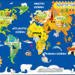 MAp of the world — Stok fotoğraf