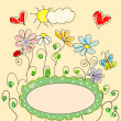 Spring greeting card — Stockvector #17824895