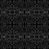 Donker naadloze patroon — Stockvector