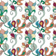 Decorative seamless pattern - Stock vektor