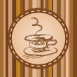 Coffee label — Stock Vector #19734677