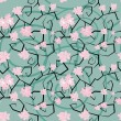 Sakura flowers seamless pattern — Stock Vector #20538553