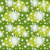 夏季花卉雏菊无缝图案 — 图库矢量图片