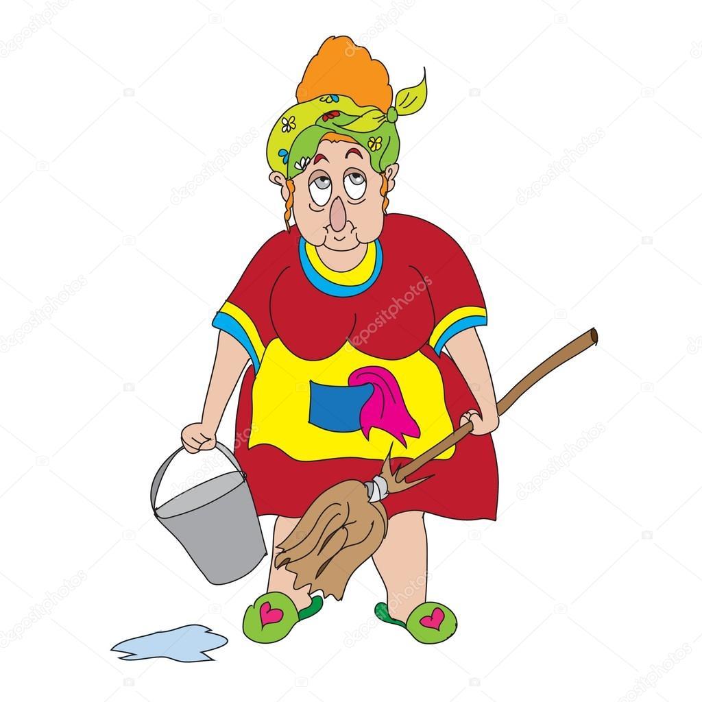 Уборщица и хозяин 16 фотография