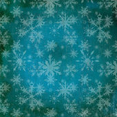 Christmas flakes grunge Pattern — Stock Photo