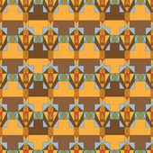 立方体の色のシームレスなパターン — ストックベクタ