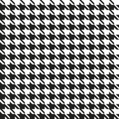 Houndstooth Seamless Pattern — Stock Vector
