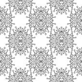 Lace Seamless Background — Stock Vector