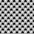 Lace monochrome Seamless Pattern — Stock Vector #40158799