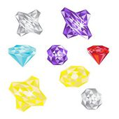 Conjunto de jóias — Vetorial Stock