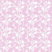 Floral lace  seamless vector pattern — Stock Vector