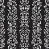 Patroon grens naadloze patroon — Stockvector