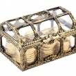 Stock Photo: Golden chest