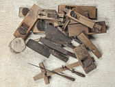 Antique carpenter tool (Still life) — Foto Stock