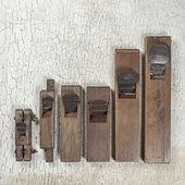 Antique Hand plane carpenter tool (Still life) — Stock fotografie