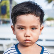 Stock Photo: Angry kid