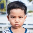 Angry kid — Stock Photo #38831465