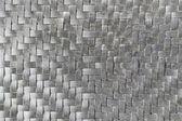 Silver mat texture — Stock Photo