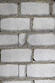 Brick wall in construction texture — Stock Photo