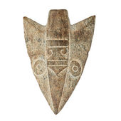 Antique arrow stone — Stockfoto