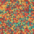 Seamless Colorful Pattern Design Vector Background — Stok Vektör