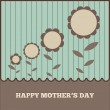 Happy mother's day cards — Stock Vector