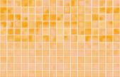 Sfondo arancione piastrelle mosaico — Vettoriale Stock