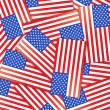 Usa flag  — Stockvectorbeeld