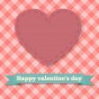 Happy Valentine's Day Heart — Stock Vector