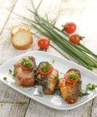 Sardines In Tomato Sauce — Stock Photo