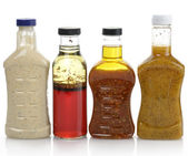 Salad Dressings — Stock Photo