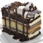 Chocolate Layer Cake — Stock Photo