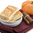 Pumpkin Spice Bars — Stock Photo