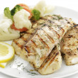 Stock Photo: Grilled Fish Fillet