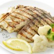 Grilled Fish Fillet — Stock Photo