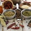 Spices Assortment - Foto Stock