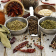 Spices Assortment - 图库照片